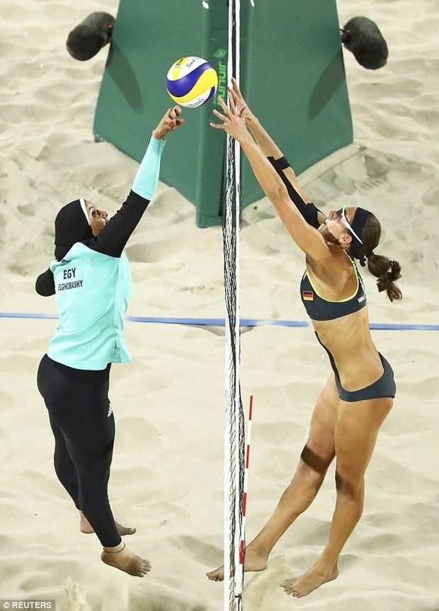 пляжний волейбол, Єгипет, Німеччина