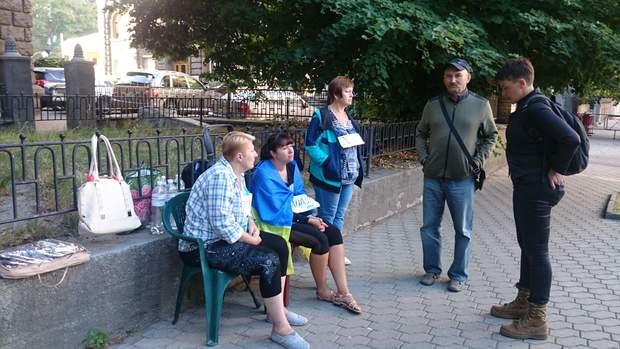 Савченко, Адміністрація Президента, Київ