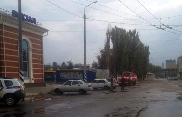 Вокзал, Олександрывка, ДНР