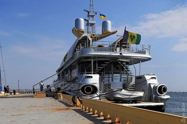 Яхта, Березовський, Одеса