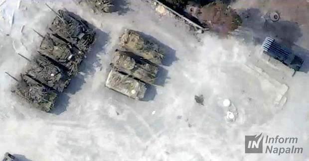 танки, Росія, Донбас