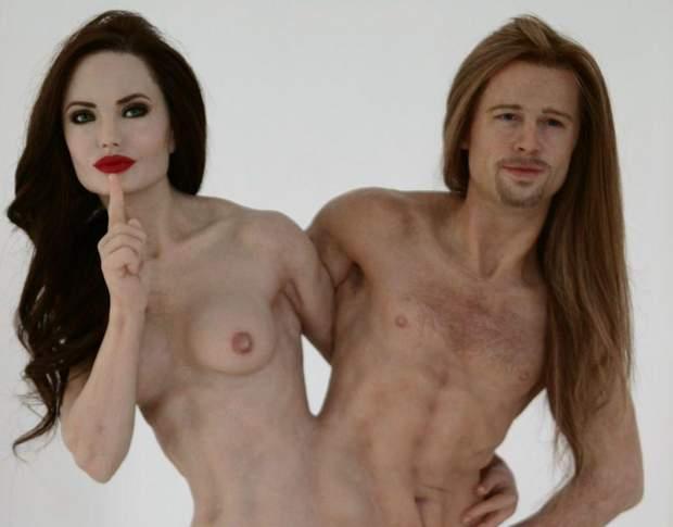 Питт, Джоли, секс