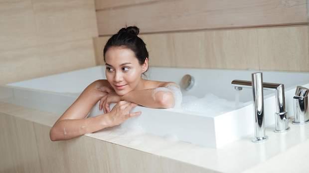 Тепла ванна – чудовий спосіб, щоб розслабитися перед сном