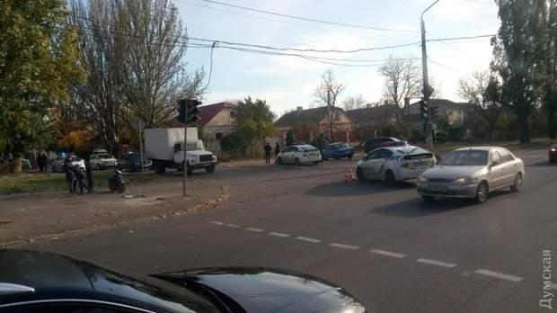 Поліція, ДТП, Одеса