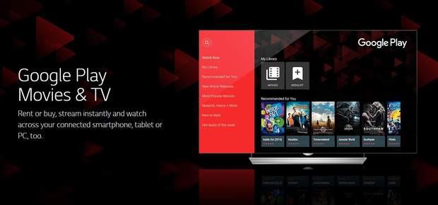 Google Play Movies, онлайн, кіно