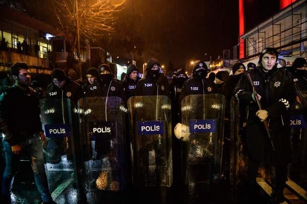 Полиция, Стамбул, правоохранители