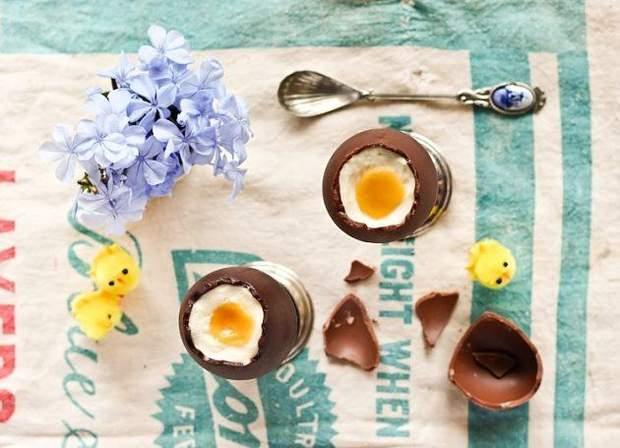 Шоколадні пасхальні яйця