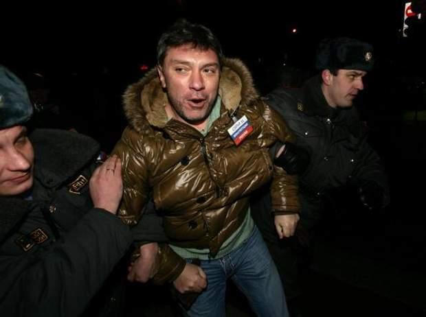 Нємцов, Росія, протест