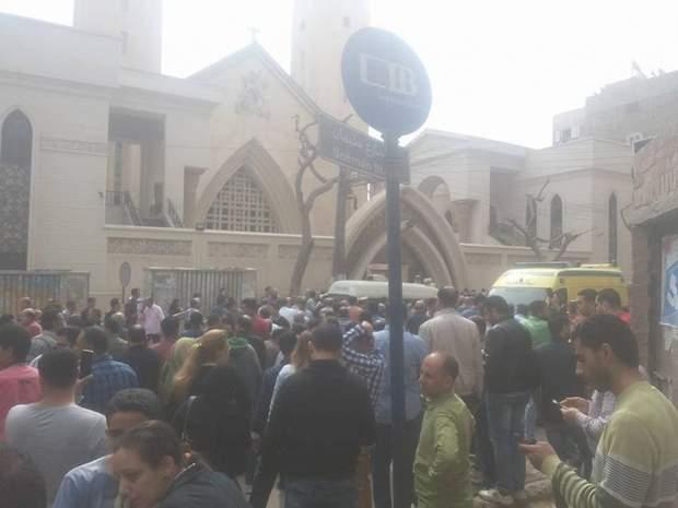 Вибух у церкві у Єгипті