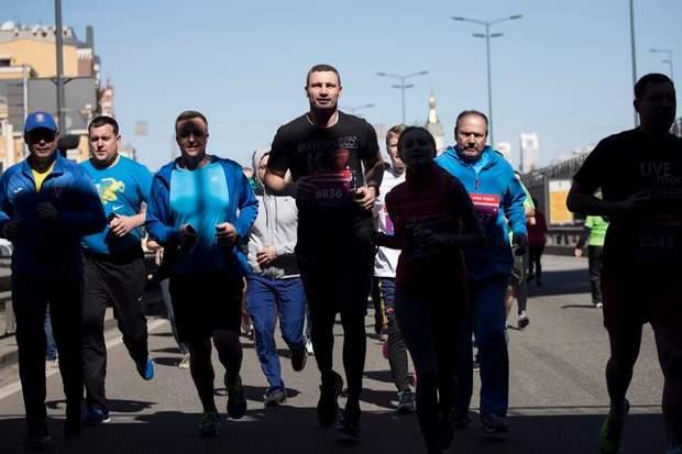 Київ, марафон, спорт, Віталій Кличко