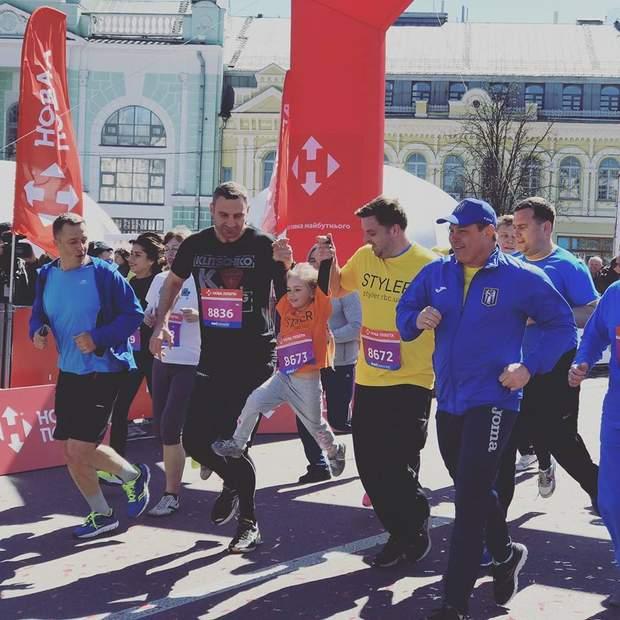 Київ, Віталій Кличко, марафон, спорт, Київрада