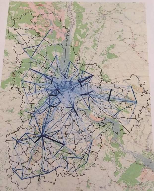 Київська агломерація: міграція мешканців