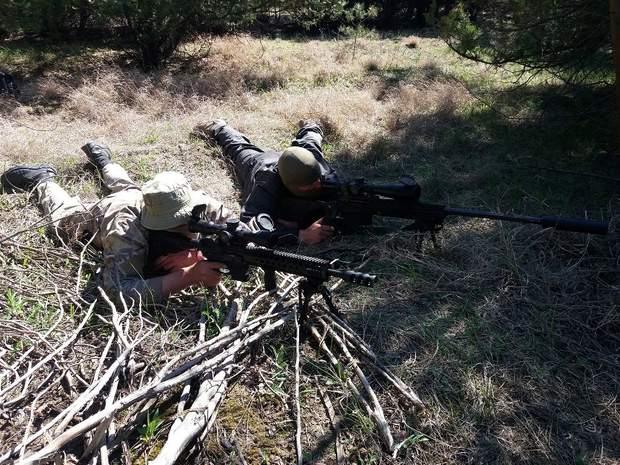 Навчання снайперів на Одещині