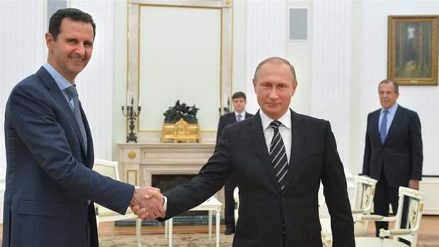 Путін підтримав злочинний режим Асада