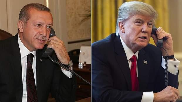 Трамп привітав Ердогана