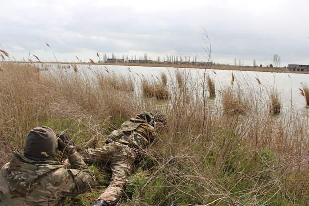 Українські силовики провели антитерористичні навчання