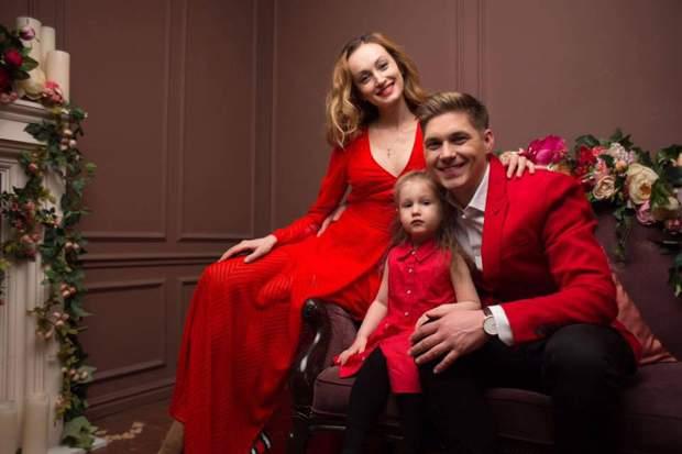 Володимир Остапчук з дружиною і донькою