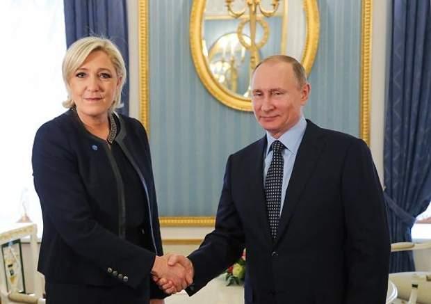 Ле Пен зустрілась з Путіним у Москві