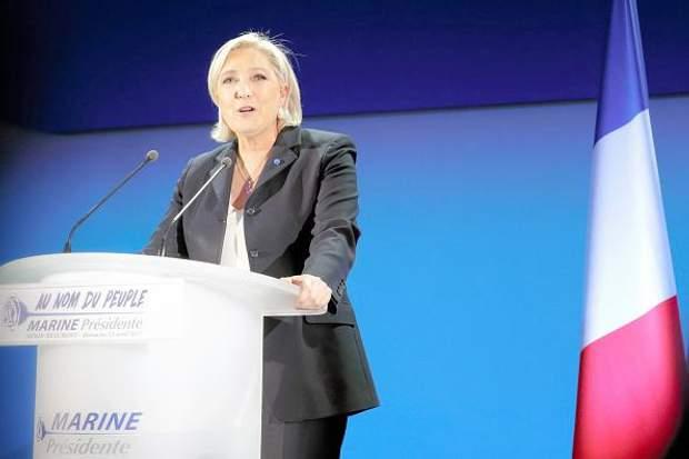 Ле Пен обіцяє вивести Францію з ЄС