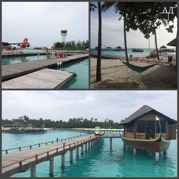 Відпочинок Гонтаревої на Мальдівах
