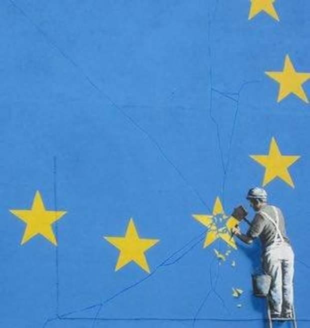 Графіті Бенксі про Brexit