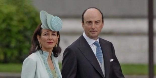 Ані Ботін з чоловіком