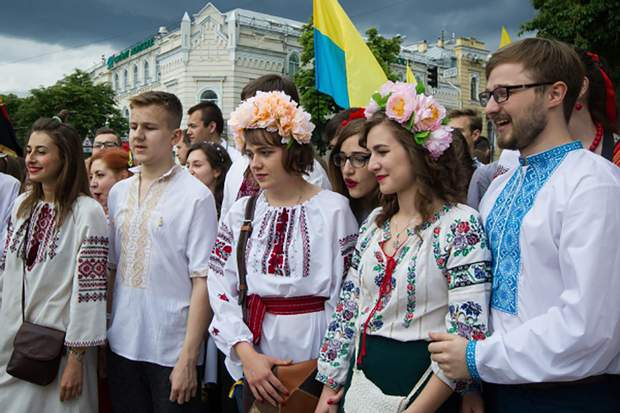 День вишиванки у Києві
