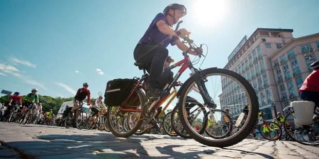Велосипедні змагання на День Києва-2017