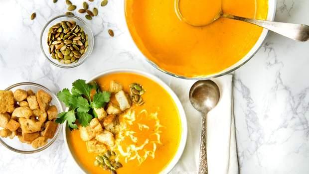 Рецепт приготування супу з гарбуза – рецепти гарбузових крем-супів