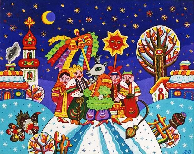 Колядки для дітей українською мовою