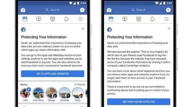 Facebook розповість користувачам правду про їхні дані