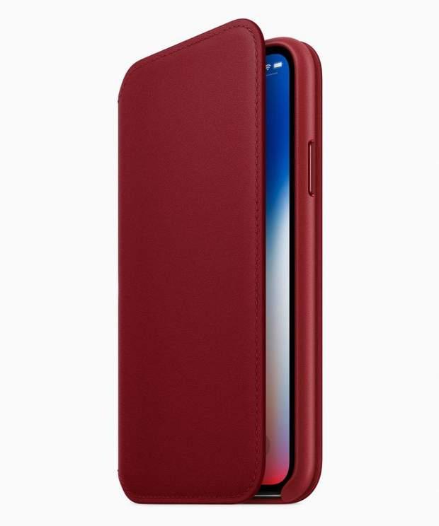 Новий чохол Folio для iPhone X