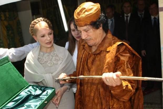 Муаммар Каддафі у 2010 році профінансував виборчу кампанію Юлії Тимошенко, інформує Asharq Al Awsat