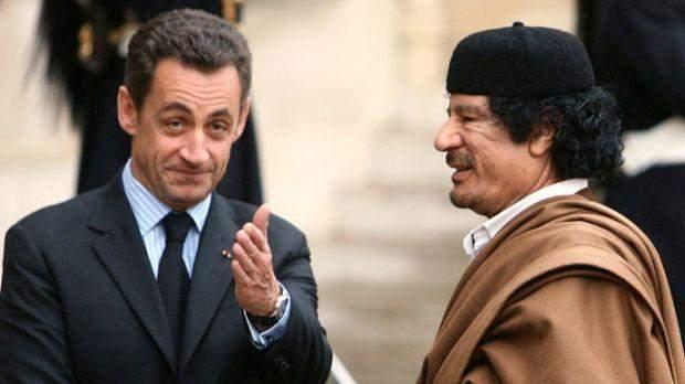 Чи був Каддафі спонсором Ніколя Саркозі, з'ясує розслідування, відкрите у Франції