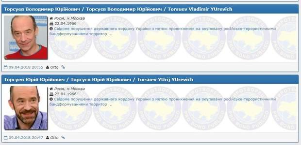 Юрій та Володимир Торсуєви потрапили до бази
