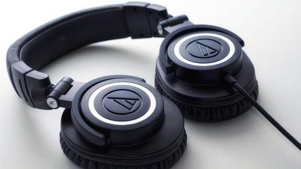 Навушники Audio-Technika ATH-M50