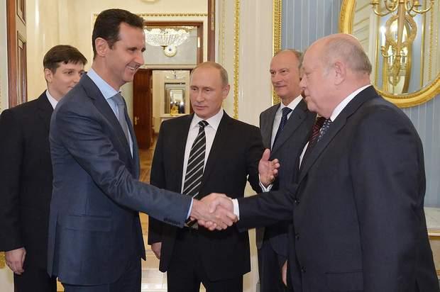 Росія, вочевидь, захищатиме сирійський режим до кінця