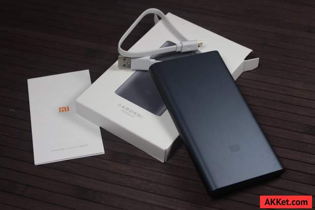 Комплектація Xiaomi Mi Power Bank 2