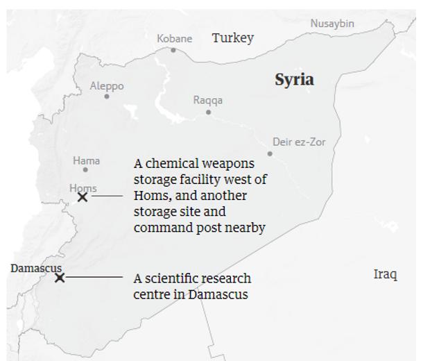Сирія, США, удар, Асад, хімічна зброя