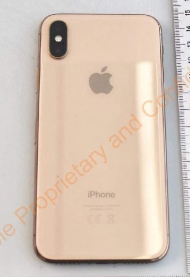 iPhone X в золотому кольорі