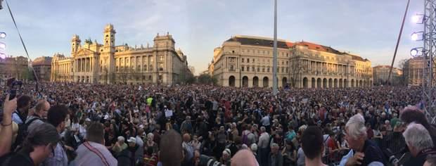 Протести в Будапешті