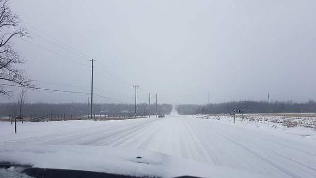 негода Канада Торонто сніг льодовий дощ