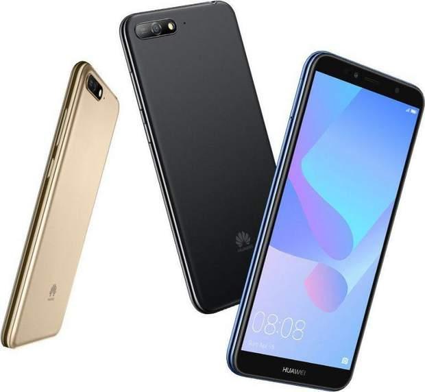 Huawei Y6 (2018) – безрамковий бюджетний смартфон