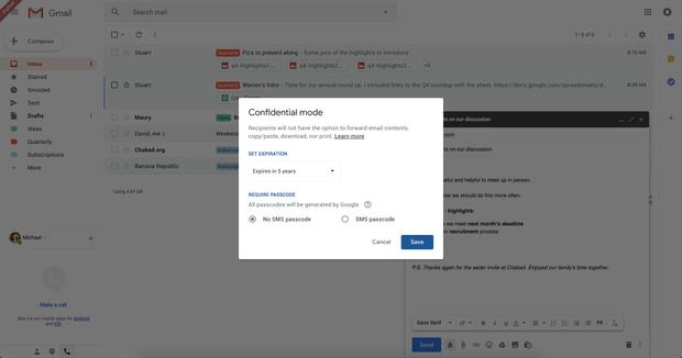 В Gmail будуть нові функції