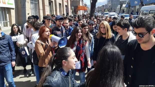 Вірменія, протести, Ванадзорі , Єреван, Саргсян
