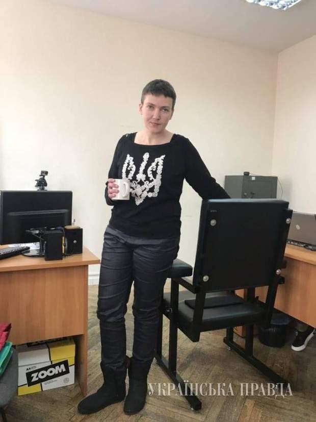 Савченко голодує