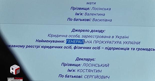 Костянтин Лосінський був директором