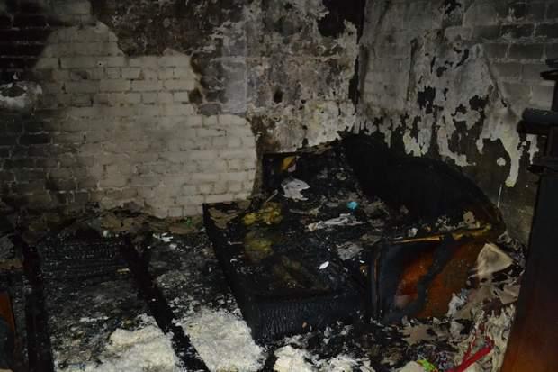 Наслідки пожежі в Одесі