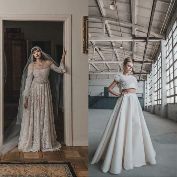 Фотопорівняння литовських наречен