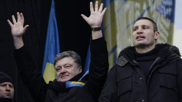 Порошенко на Майдані 2013 рік